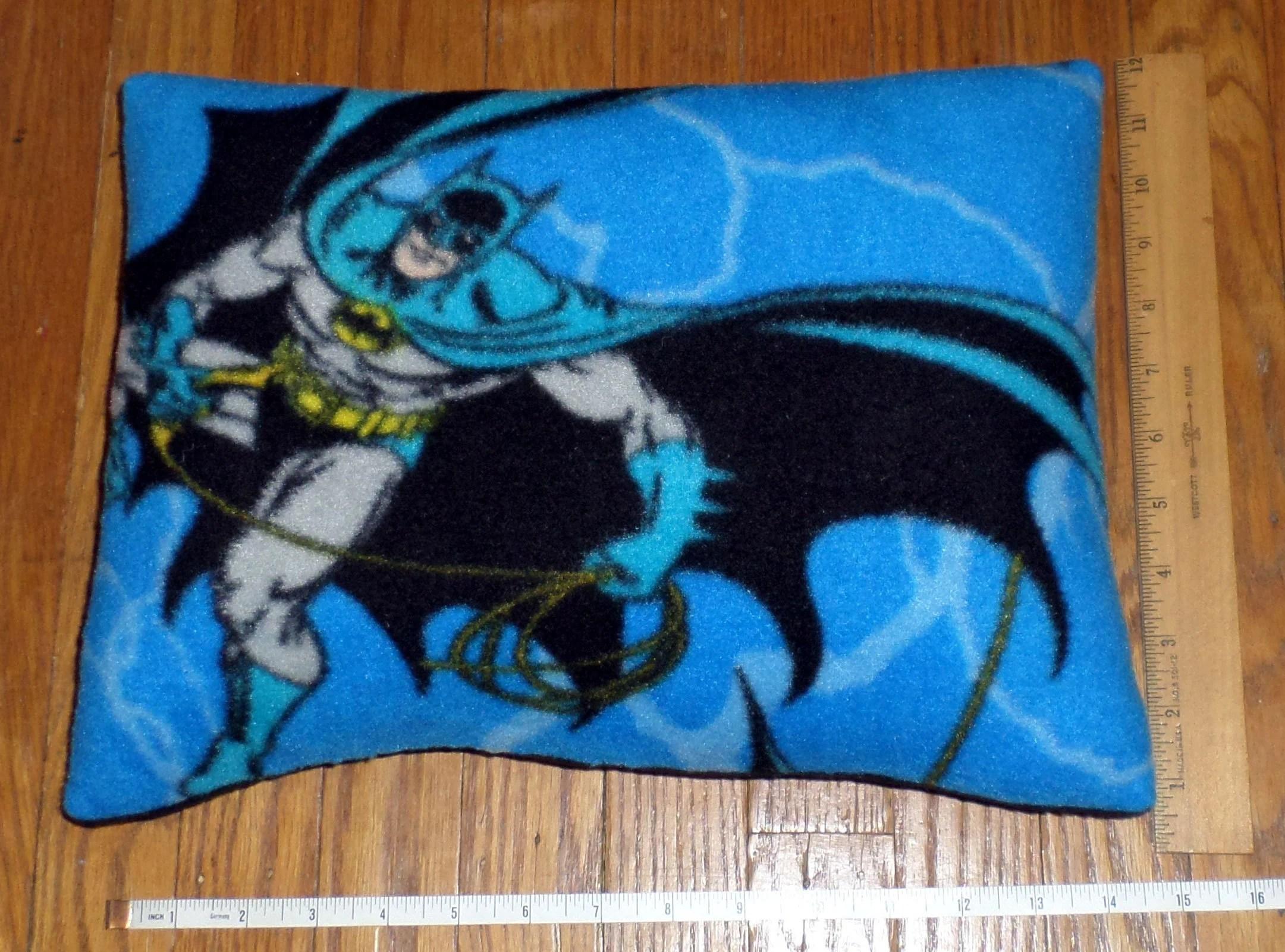 batman pillow etsy