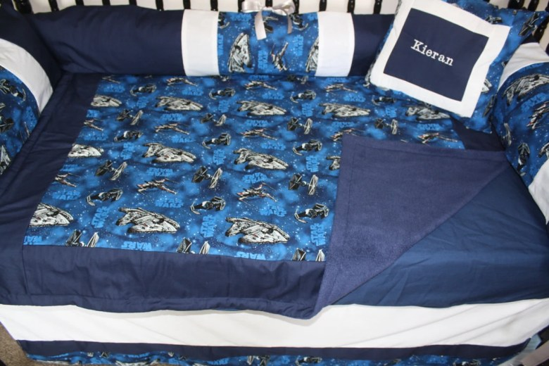 Five Piece Star Wars Bedding Set by BedBugsCreations