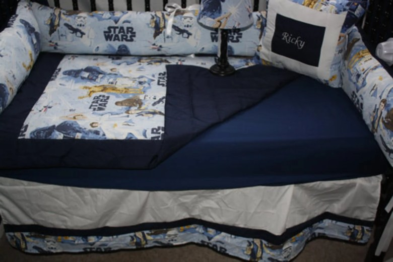 Star Wars Custom Crib Bedding by BedBugsCreations