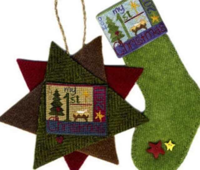 Sale  Off Original Price My St Christmas Cross Stitch Pattern Silk