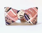 Air Mail / Postal Bow Tie...