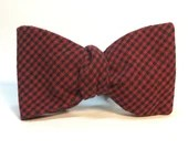Black and Red Gingham Che...