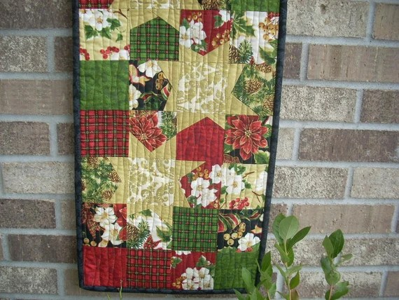 christmas tidings tablerunner pattern sheet