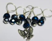 Ravenclaw Stitch Markers...