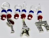 Paris Stitch Markers...