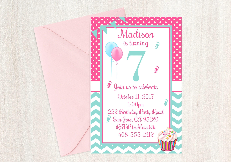 7th birthday seventh birthday 7th