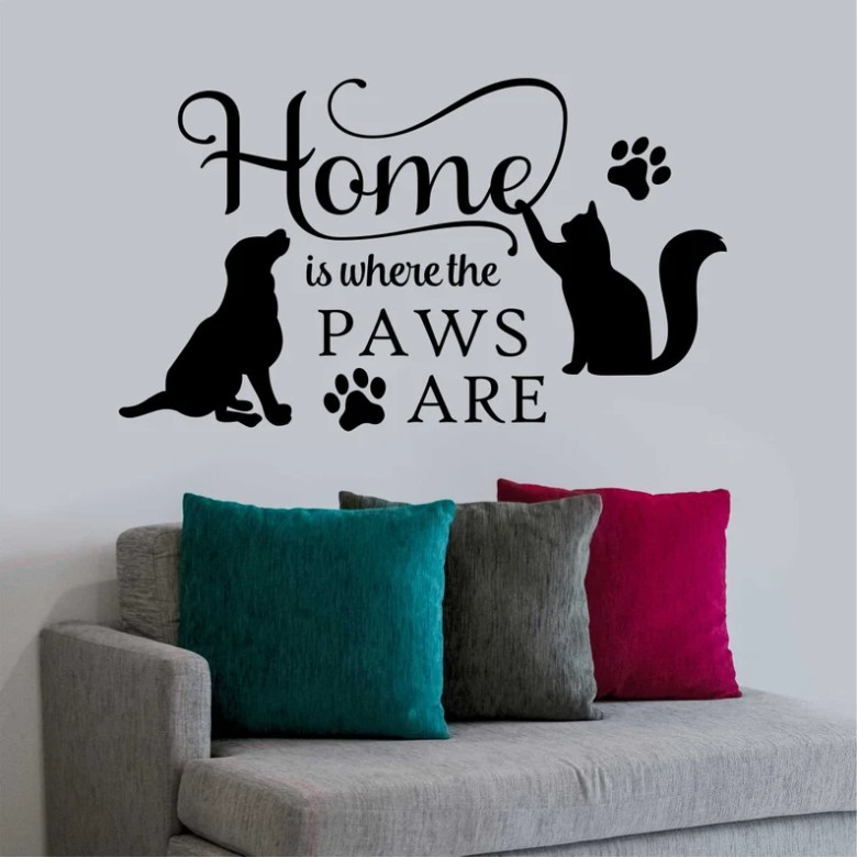 Home is Where the Paws Are by WallsThatTalk
