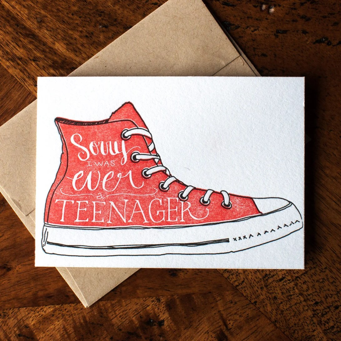 Sorry I was a Teenager - ...