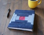Modern Quilt Journal Book Cover - Ghee's Bend Inspired