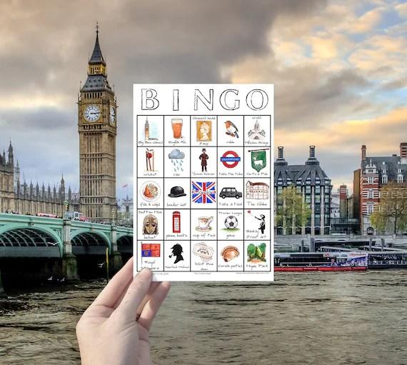 Country Specific Bingo