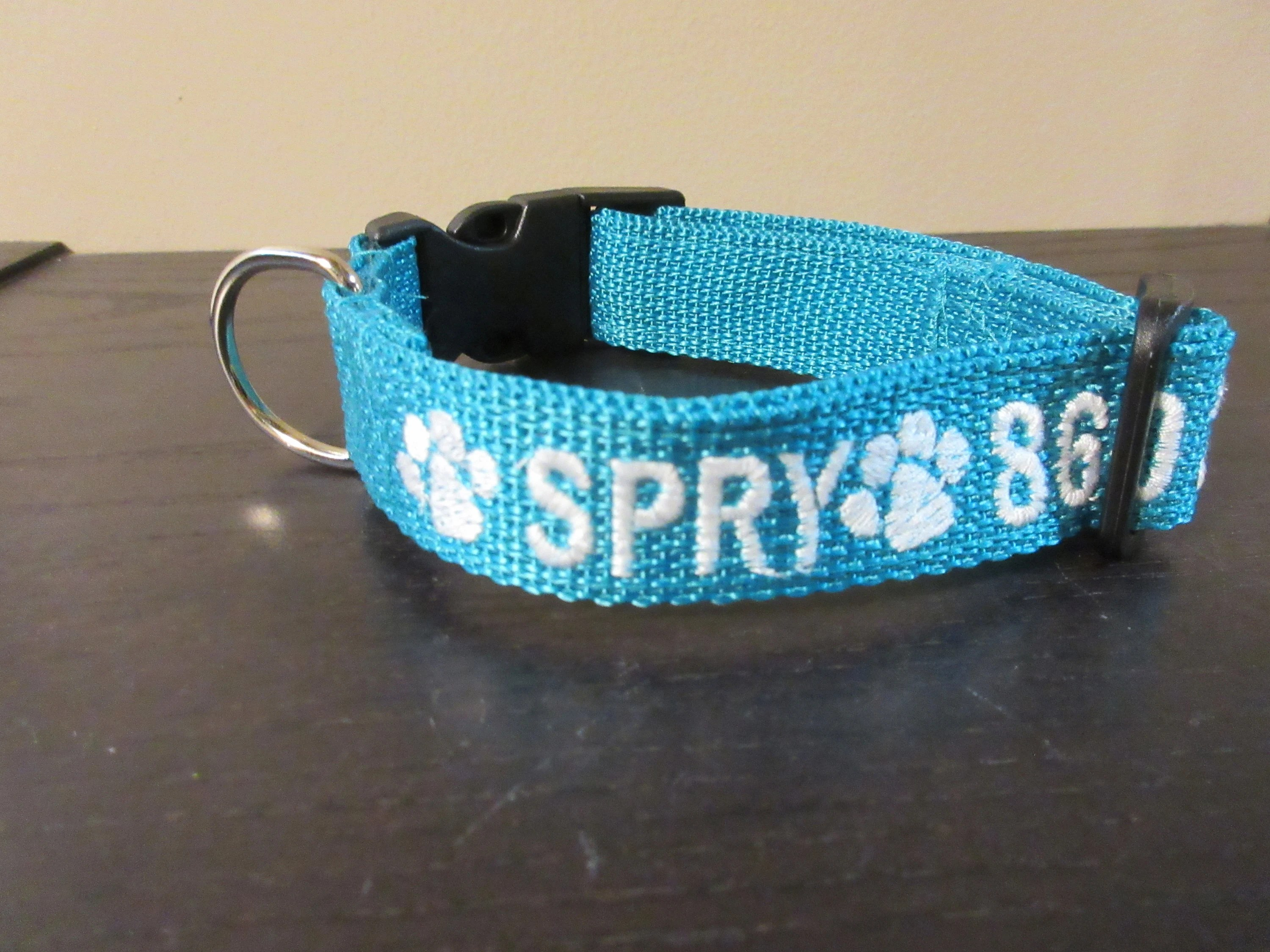 Personalized Dog Collar Dog Collar with Embroidered Name and image 6