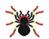 Tarantula embroidery design, Tarantula embroidery digitized  design