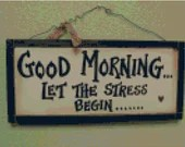 Cross stitch good morning let the stress begin pdf pattern