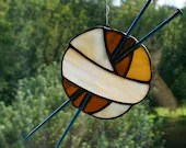Stained Glass Ball of Yar...