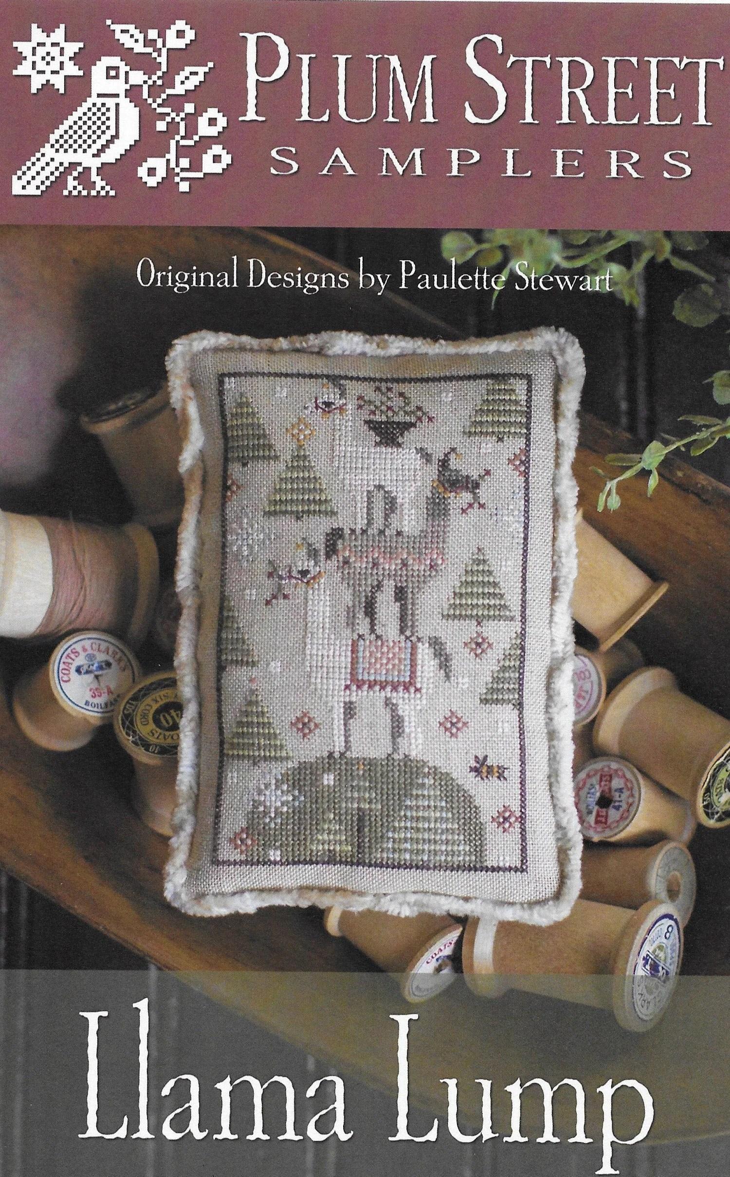 Counted Cross Stitch Pattern Llama Lump Farm Animal