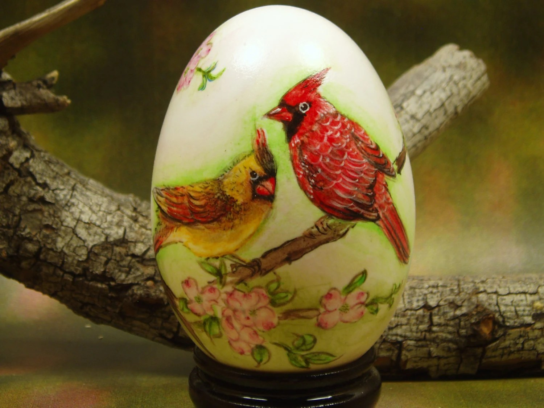 Cardinal American Dogwood Virginia State Bird And Flower