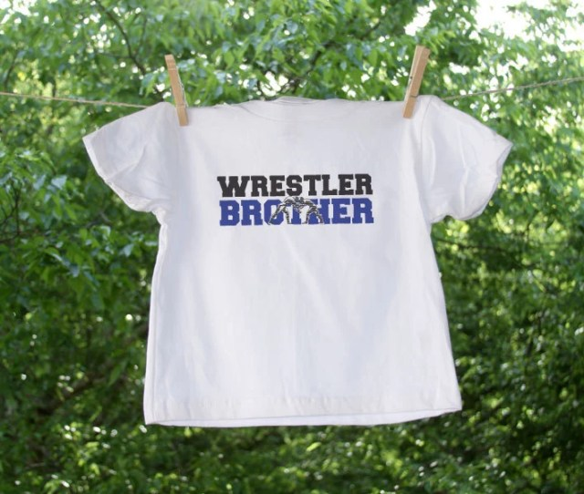 Wrestler Sister Shirt Can Be Personalized With Name Weight Or Club On Back Wrestling Sister Wrestling Shirt Wrestler Family Shirt