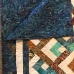 Handmade Quilt Quilts For Sale Batik Diamonds Geometric Etsy