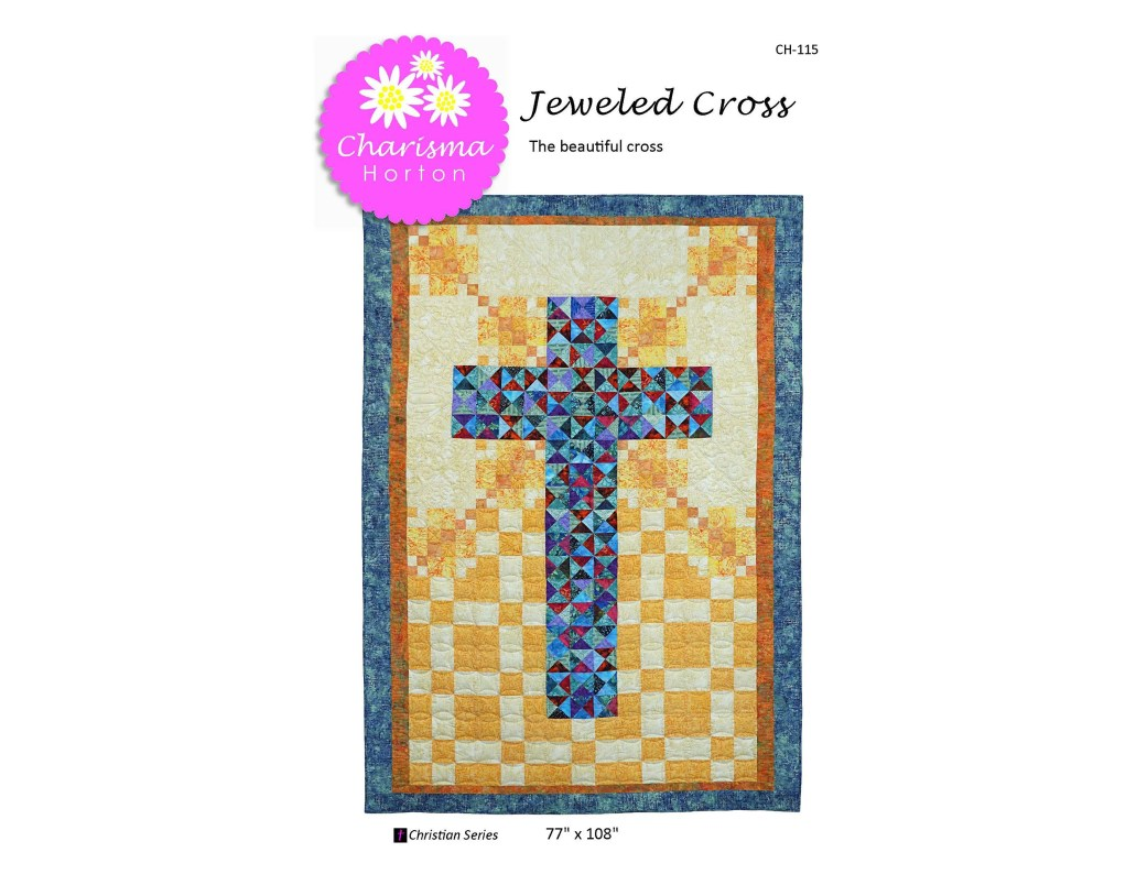 Jeweled Cross PDF Pattern...