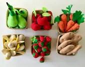 Felt Food   Play Food   Food Toy   Play Pretend   Waldorf Toys   Play Kitchen   Montessori   Fake Food   Educational Toys   Gift