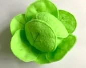 Felt Food   Felt Cabbage   Play Food   Food Toy   Play Pretend   Waldorf Toys   Play Kitchen   Montessori   Felt Vegetable   Lettuce