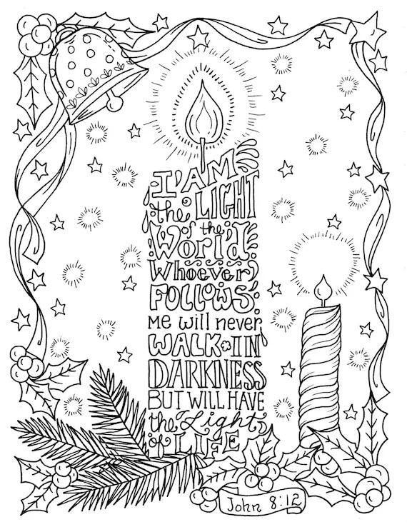 scripture coloring pages # 11