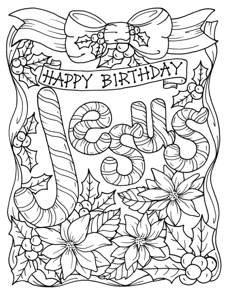 5 pages christmas coloring christian religious scripture | etsy