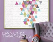 Dancing Triangles Quilt Pattern by Zen Chic