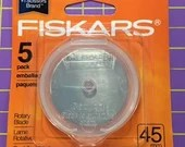 Fiskars 45mm Replacement Blades 5ct