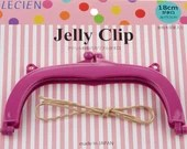 Jelly Clip - Purple - 7""