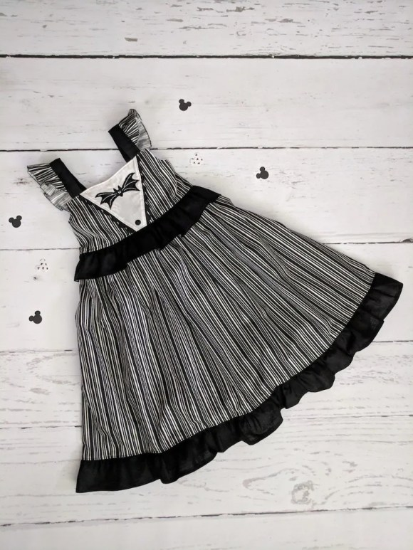 Girls Jack Skellington Twirl Dress Nightmare Before Christmas image 0