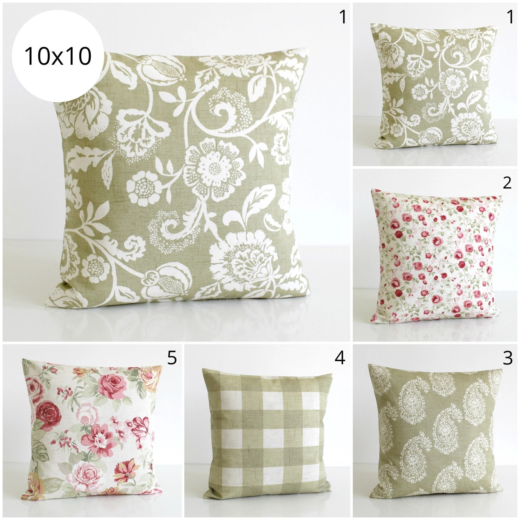 Come be inspired by gorgeous creations. Shabby Chic Decorative Pillow Cover Floral Cushion Cover Etsy