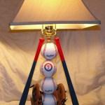 Ultimate Rangers Baseball Table Lamp Etsy