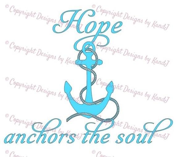 Download Hope anchors the soul SVG anchor svg hope svg digital cut ...