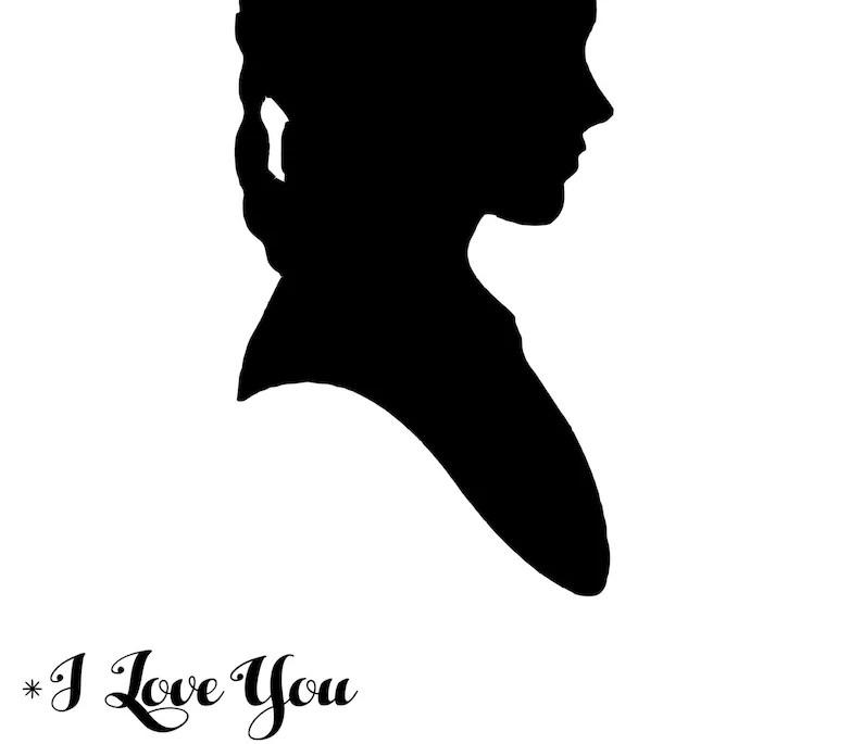 Download I love you I know Princess Leia Han Solo Silhouette Star ...