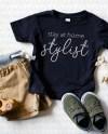 Toddler Mockup Kids Black T Shirt Mock Up Rabbit Skins Etsy