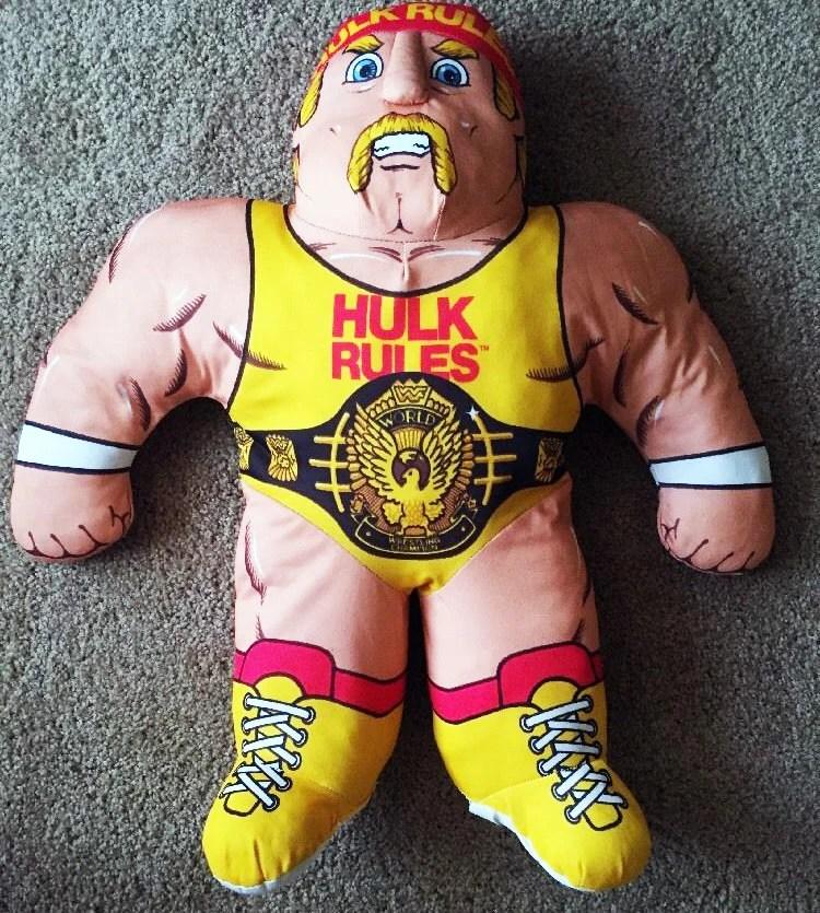 vintage wrestling buddy wwf hulk hogan