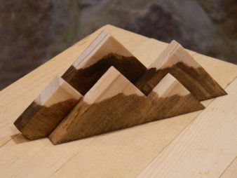 Image result for wooden mountain sculptures