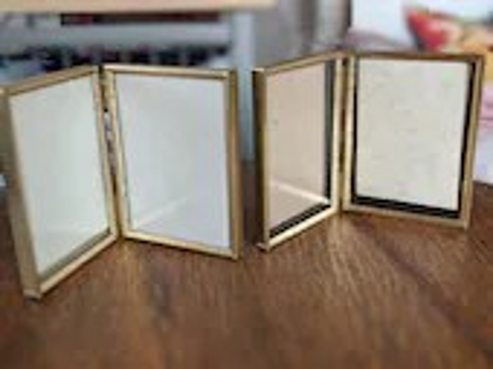 Vintage Brass Frame Lot, ...