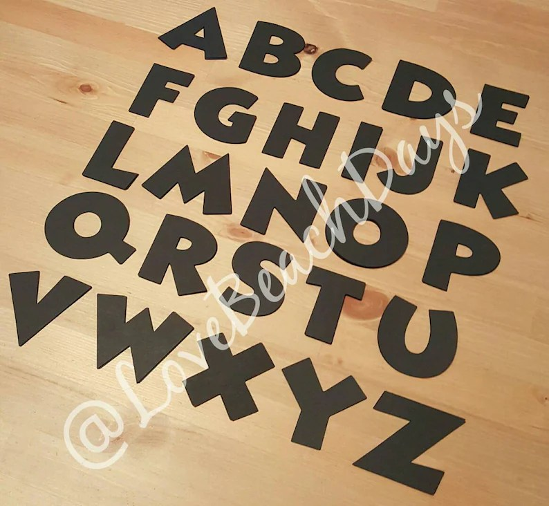 Download Disney Font Alphabet pack 110 piece Disney Font 3 inch | Etsy