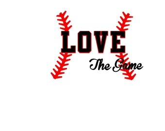 Download Take Me Out To The Ball Game Silhouette or SVG Instant   Etsy
