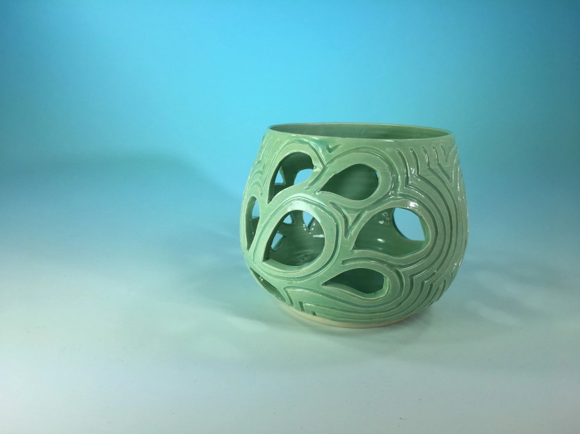 Candle Holder - Turquoise...