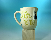 Fur Mama Ceramic Mug / Ca...