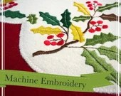 Wool Embroidered Holiday ...
