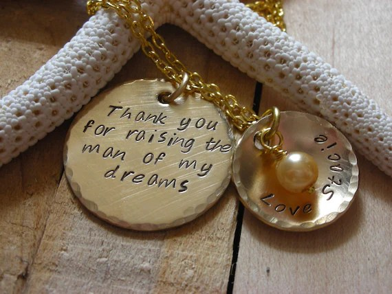 Necklace Charm Mother In Law Gift-Daughter In Law Gift