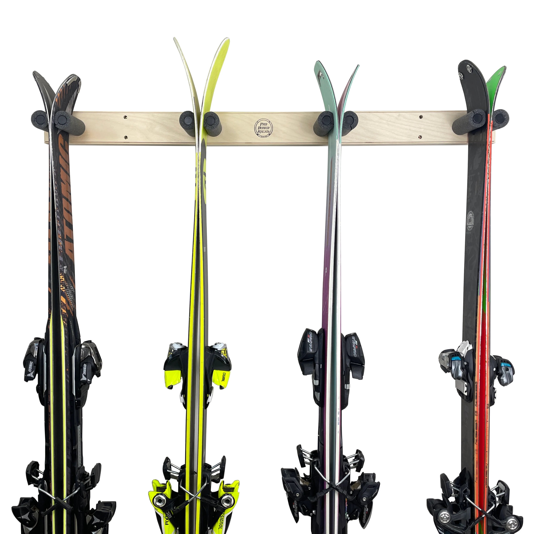 wood ski rack etsy