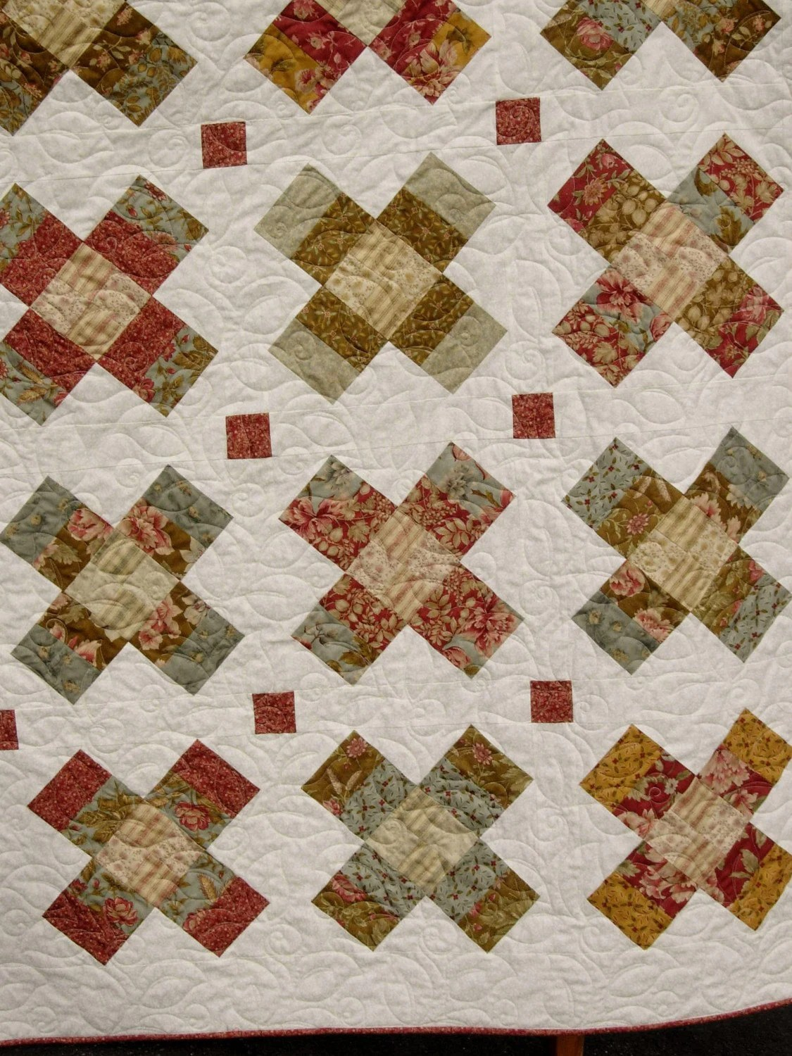 Pattern Quilt Roll Size King Jelly