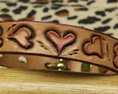 Leather Cat collar, small...