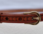 Handmade belt, Western be...