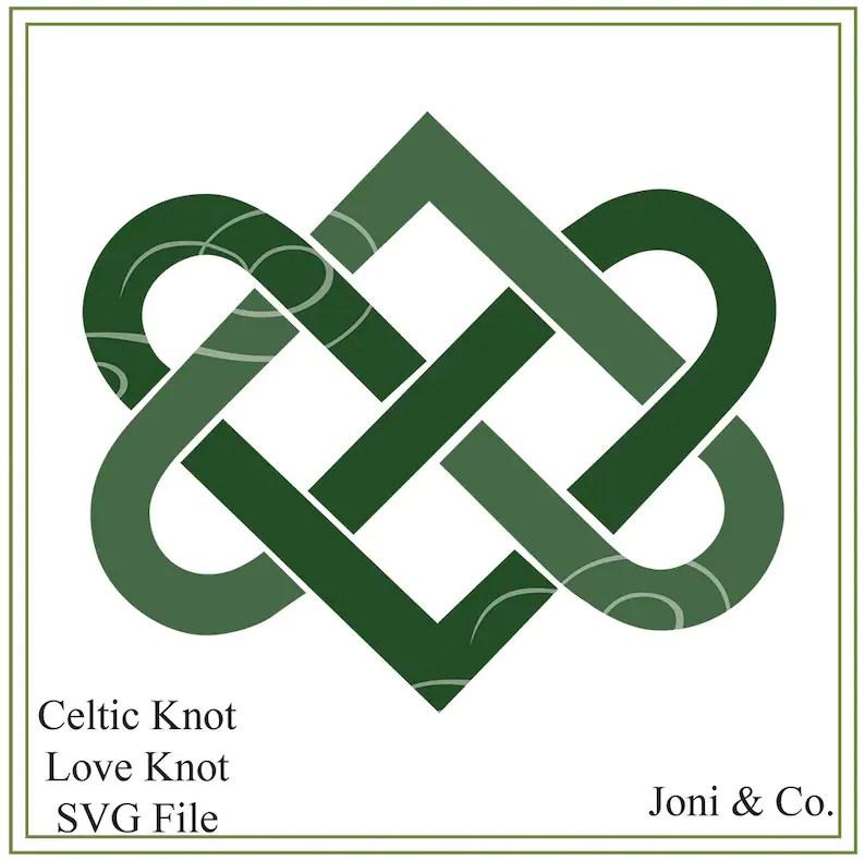 Download Celtic Love Knot SVG Celtic wedding Ireland SVG SVG | Etsy